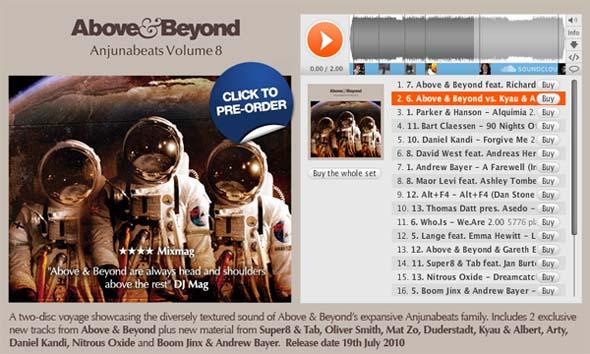 Космический альбом от Above & Beyond
