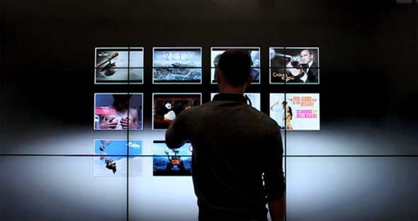 Multi-Touch для домашних кинотеатров