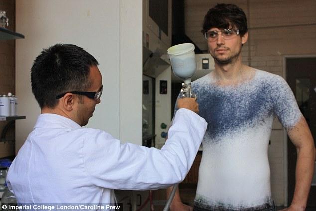 Жидкая одежда будущего
