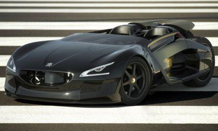 Peugeot представляет электрический концепт EX1
