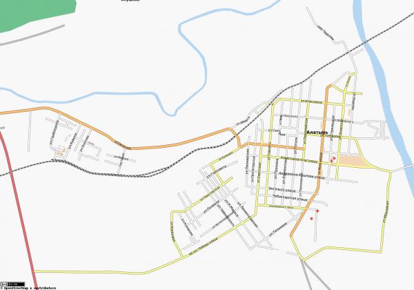 Карта Алатырь