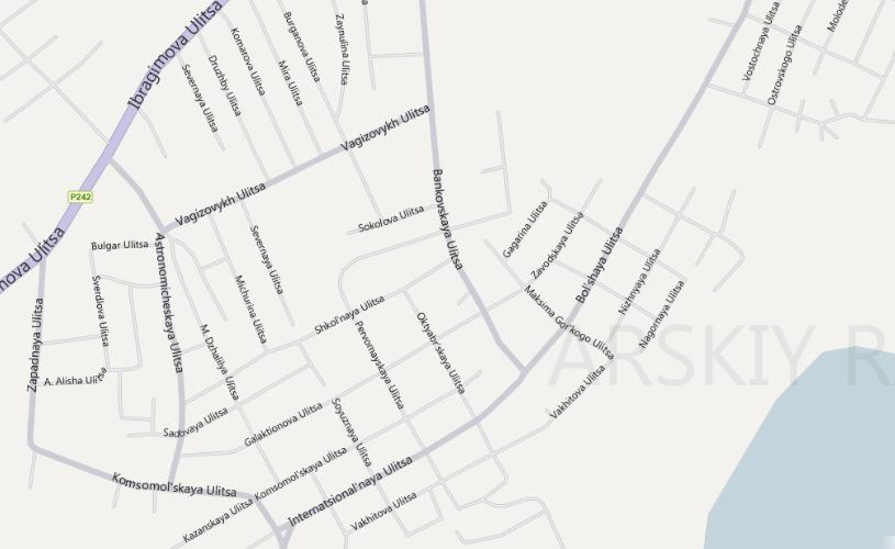 Карта Зеленодольска С Улицами