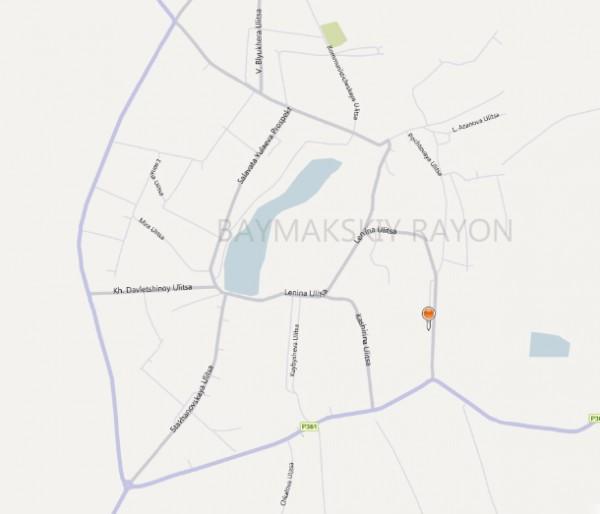 Карта Баймак