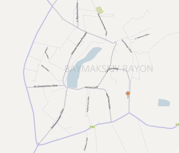 Карта Стерлитамака подробная районы названия улиц