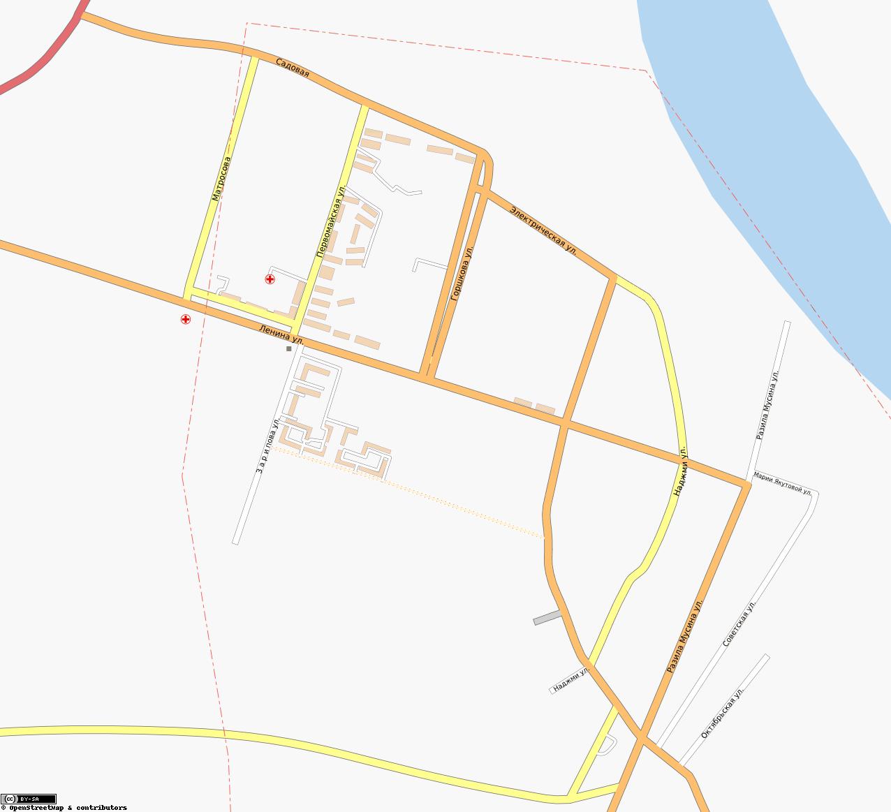 Карта Города Кумертау С Улицами И Номерами Домов