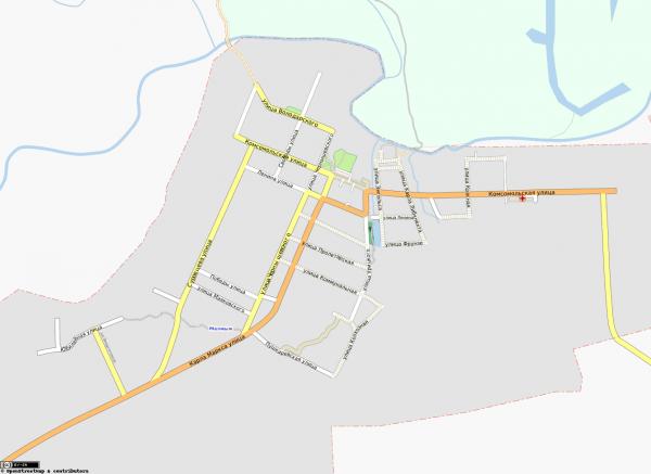 Карта города Малмыж