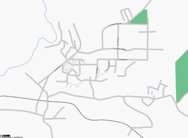 Карта Межгорье