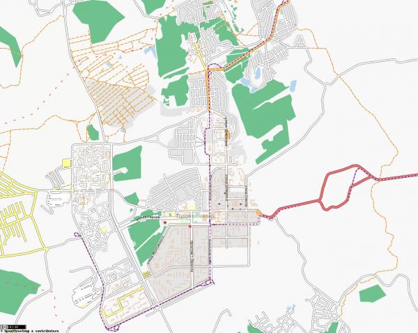 Карта Прокопьевска онлайн