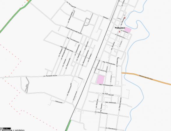 Карта Рубцовска онлайн