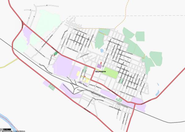 Карта Шумерля