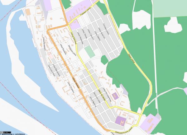 Карта Звенигово