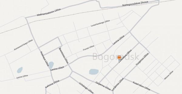Карта Богородск