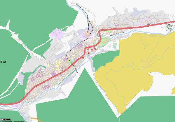 Карта города Дальнегорск