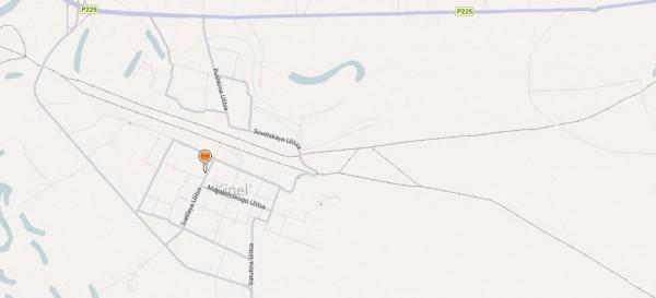 Карта города Кинель