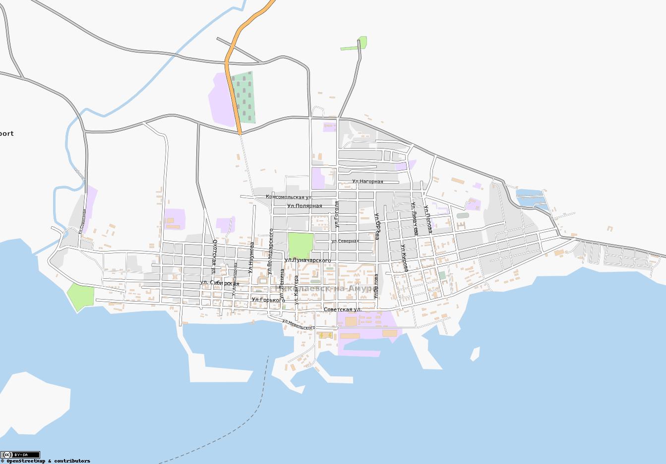 Карта Города Семей