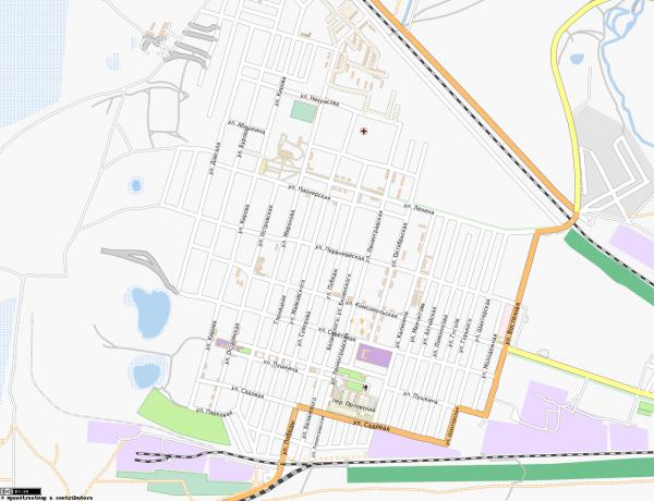 карта Горняк