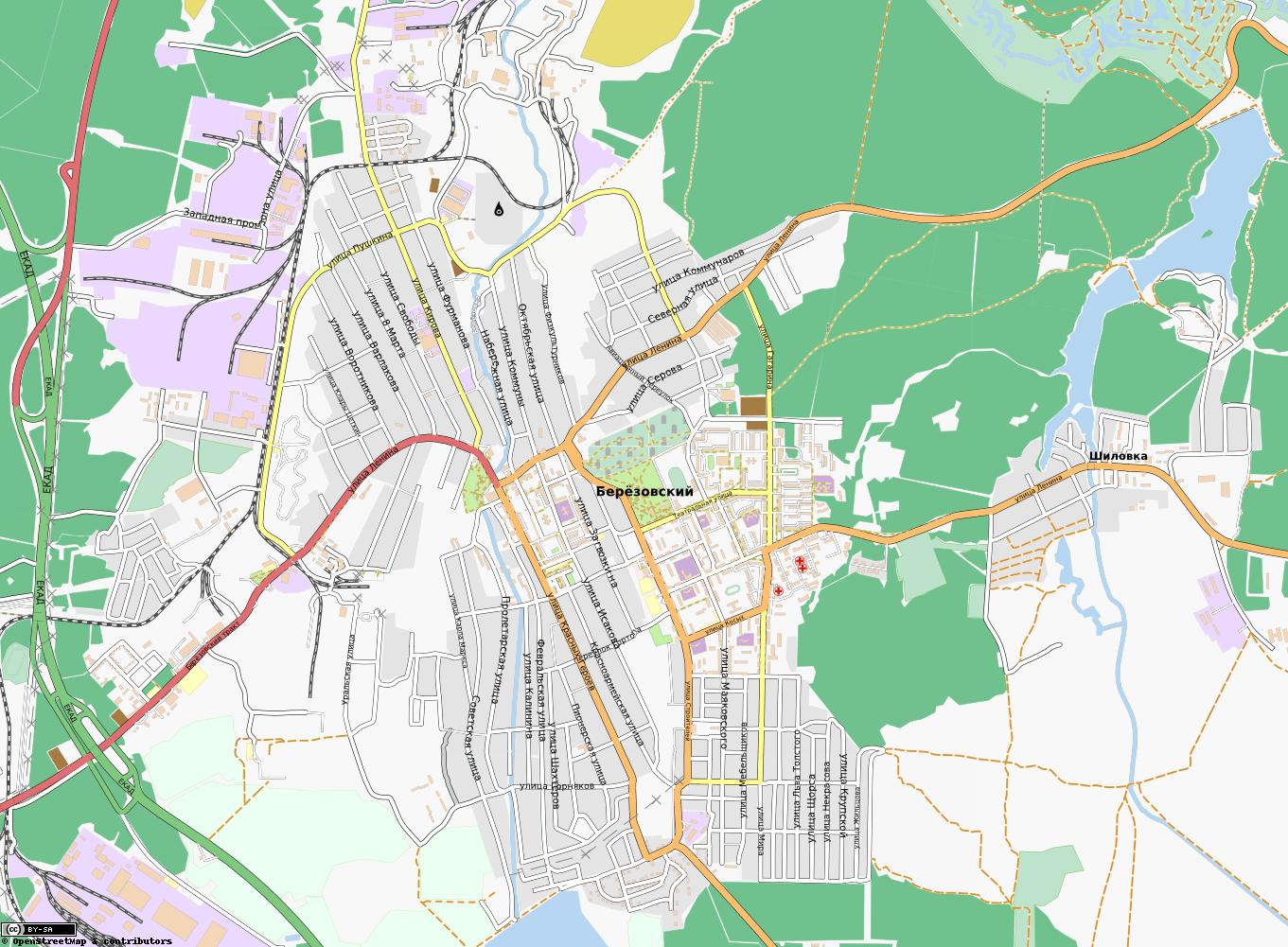 Карта Белова подробная районы названия улиц номера домов