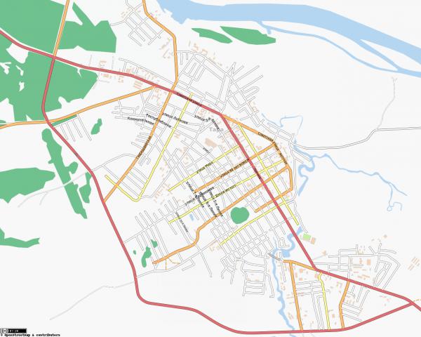 Карта Тара