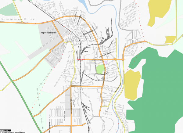 Карта города Искитим