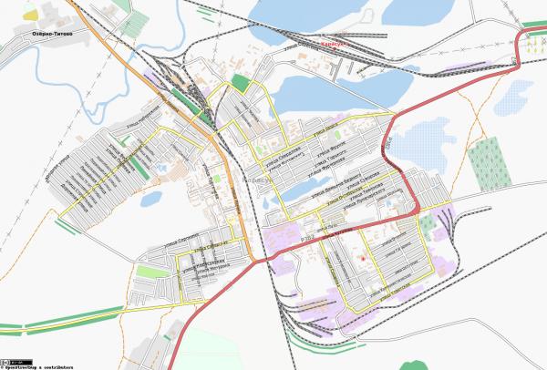 Карта Карасук
