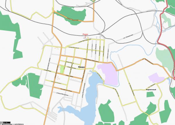 Карта Ревда
