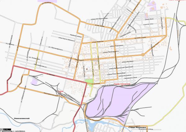 Карта Серов