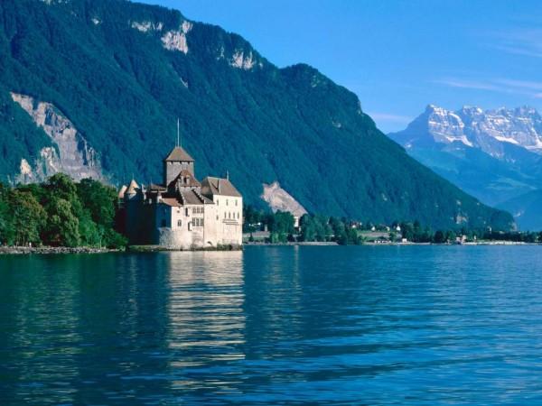 Швейцария горы