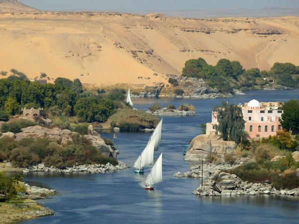 Река Нил Египет