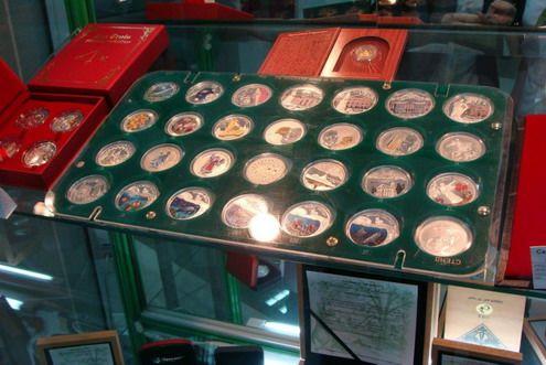 выставку монет
