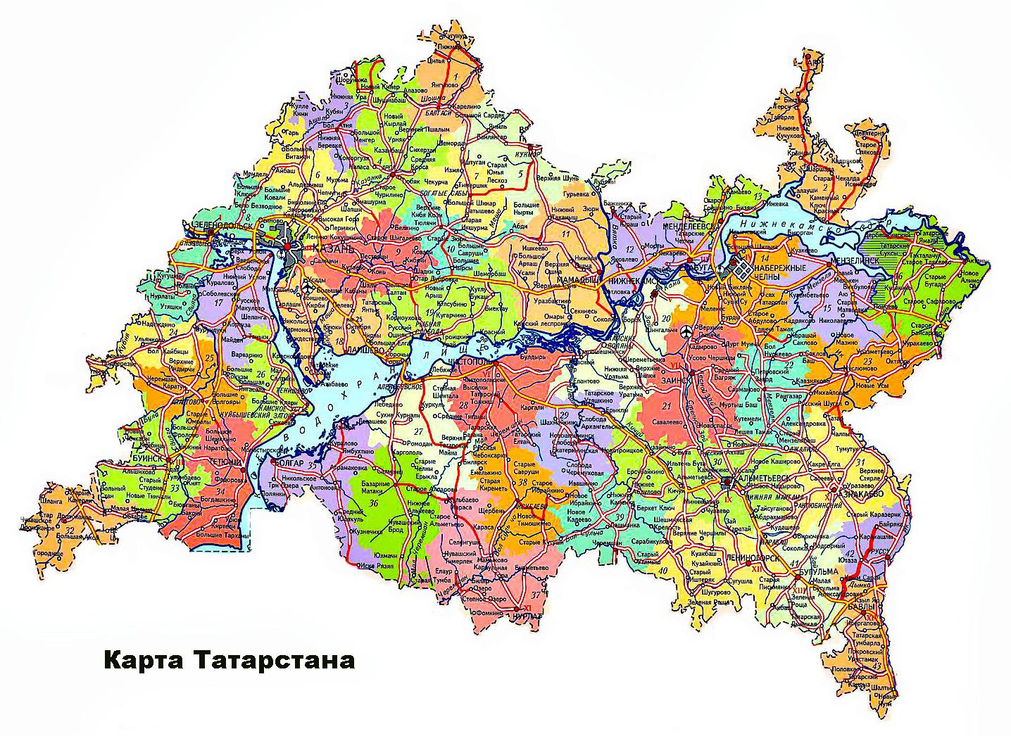 Карта Города Зеленодольска С Улицами И Номерами Домов