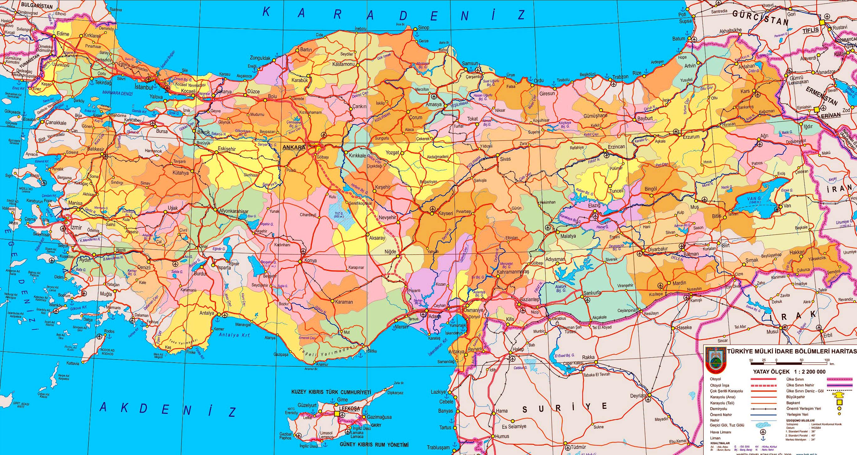россия турция на карте
