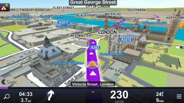 GPS-навигатор в дорогу