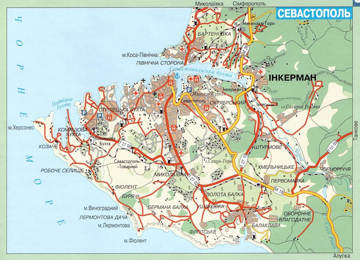 севастополь карта фото рабочая площадь слайдов