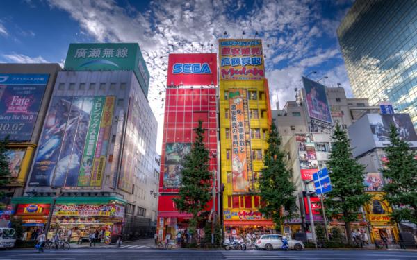 туристов в Японии