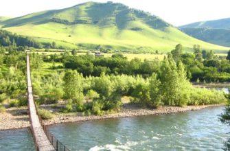 Алтай весной